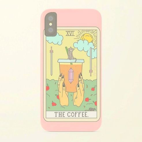 01. The Coffee Tarot iPhone Case