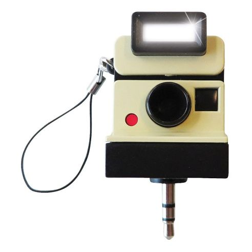 03. Snap! Vintage Selfie Light & Headphone Splitter