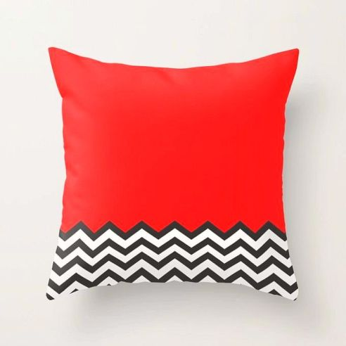 04. 'Twin Peaks_ Black Lodge Dreams Cushion