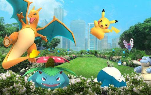 Pokemon Go Nintendo cream magazine @2x