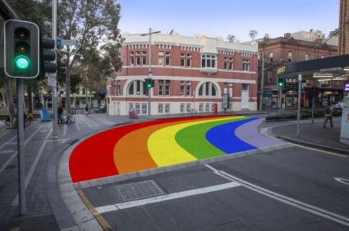 Sydney Rainbow Crossing cream magazine @2x