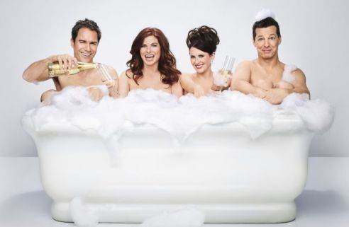 Will & Grace Second Season Stan cream magazine @2x