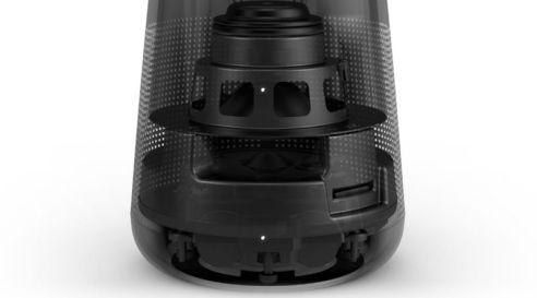 Bose Soundlink Revolve interior