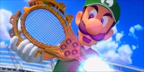 Waluigi - Mario Tennis Aces cream magazine @2x