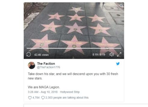 Donald Trump fake stars @2x