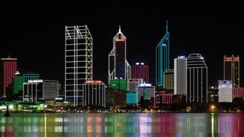 Illuminated Perth @2x