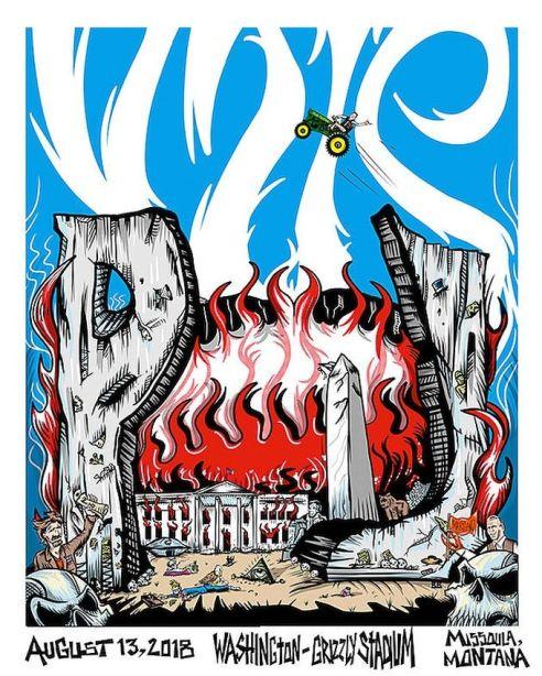 Pearl Jam Anti Trump Poster @2x