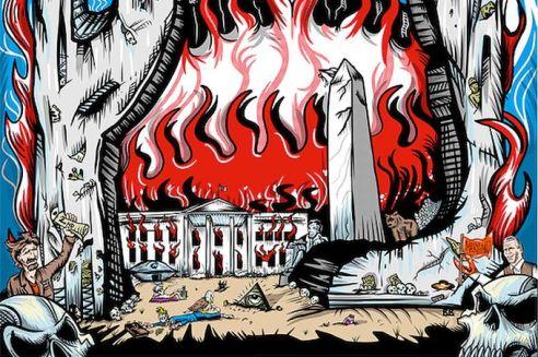 Pearl Jam Anti Trump Poster cr @2x