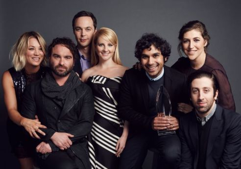 The Big Bang Theory Season 12 cream magazine @2x