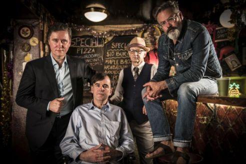 Richard Fidler, Paul Livingston, Paul McDermott and Tim Ferguson (front) credit Mark Rogers @2x