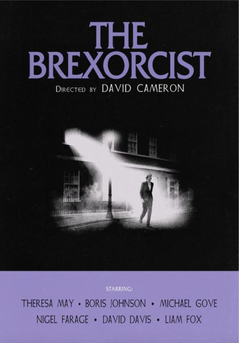 03. The true terror of Brexit is only just beginning... Inspired by The Exorcist - by subsiststudios 99designs