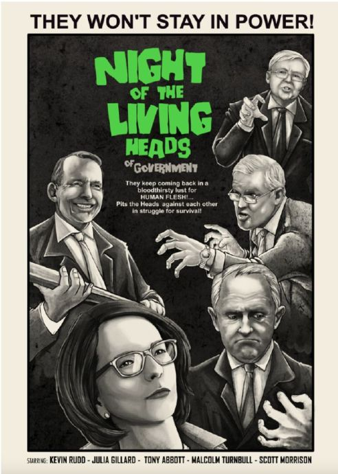 06. A leadership spill drama worthy of Night of the Living Dead - by RVST 99designs