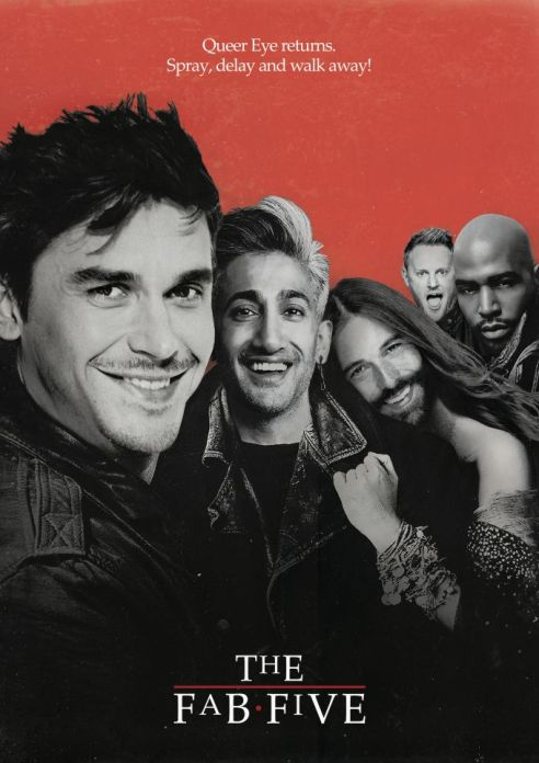 09. The Fab Five (The Lost Boys)_99designs_nevergohungry
