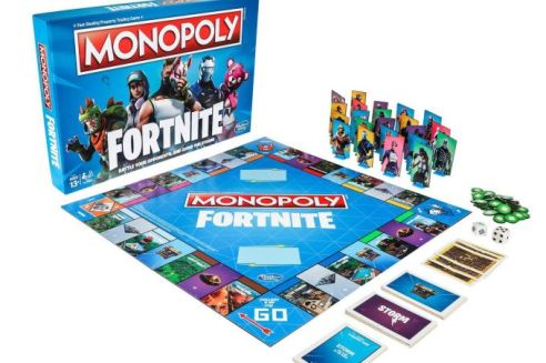 Fortnite Monopoly Hasbro cream magazine @2x