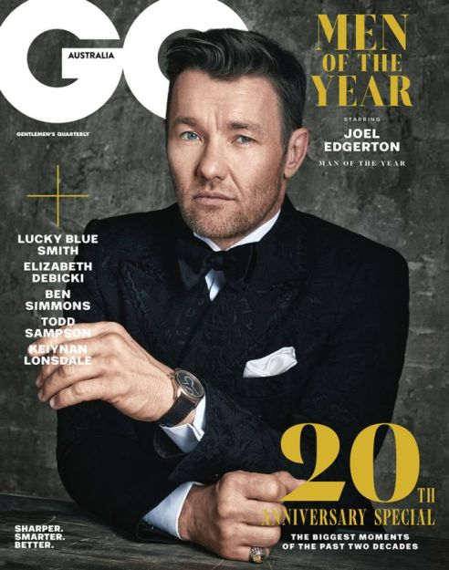 GQ Men of the Year 2018_MAN OF THE YEAR COVER_JOEL EDGERTON_LR