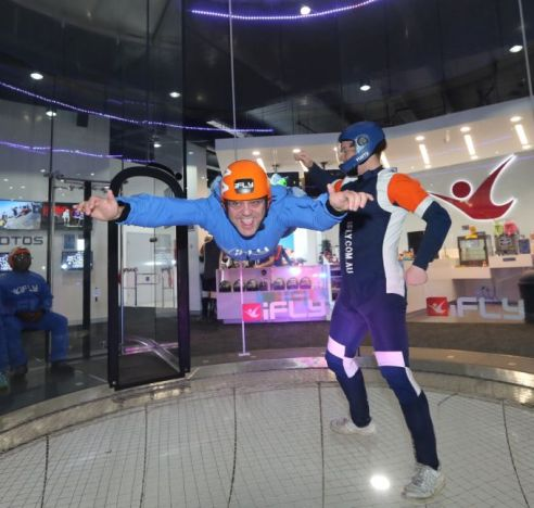 a couple of goes and i'm a natural at this - ifly vr